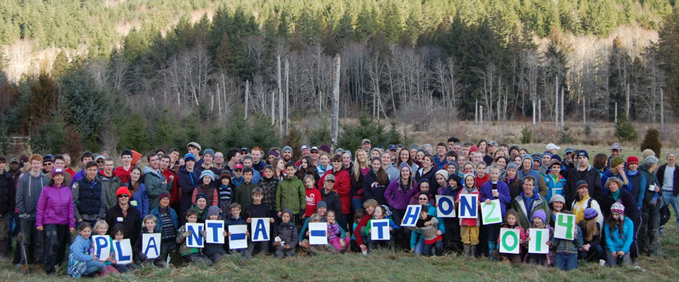 PTPC Fiber Supply Donates Logs to Local Watershed Restoration Project